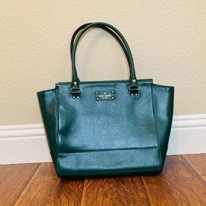 Kate Spade Green Tote Handbag NWOT